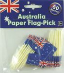 Australian Flags-Pkt 50