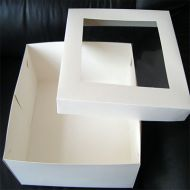 "18""x14""x6"" Rectangular Windowed Cake Box"