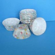 #408 Xmas Silver Gifts/Bauble 100pk