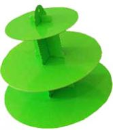 Lime Green Cupcake Stand