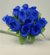Royal Blue Rosebuds