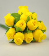 Yellow Rosebuds