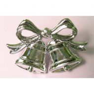 23mm Silver Double Flat Bell