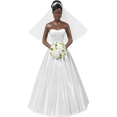 Classic Bride Topper Dark Skin
