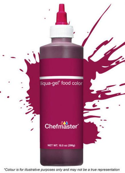 Chefmaster Burgundy Wine 298gr Gel
