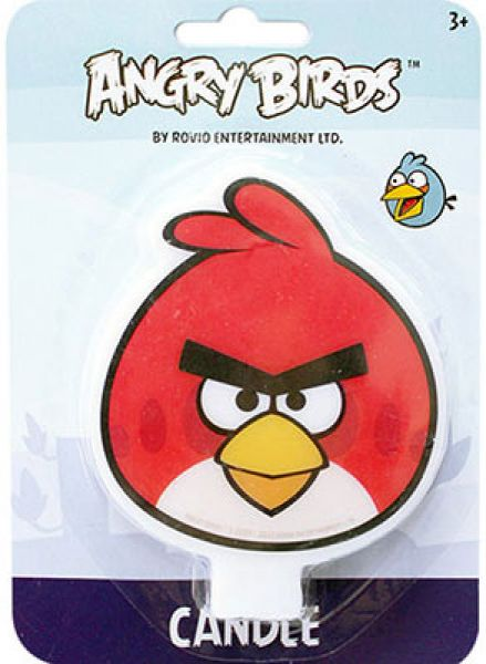 Angry Birds Flat Candle