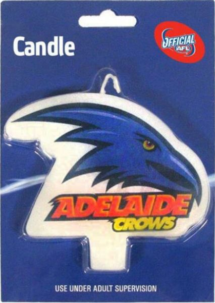 Adelaide Crows Candle