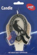 Collingwood Magpies Afl Candle