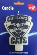 Geelong  Cats AFL Candle