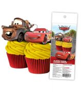 Disney Cars Wafer Cupcake Toppers