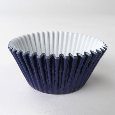 #398 Navy Metallic Cupcakes