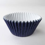 Navy Metallic #408 Cake Cups