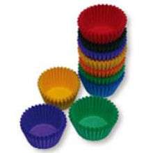 Assorted Colours #550 Cake Cups