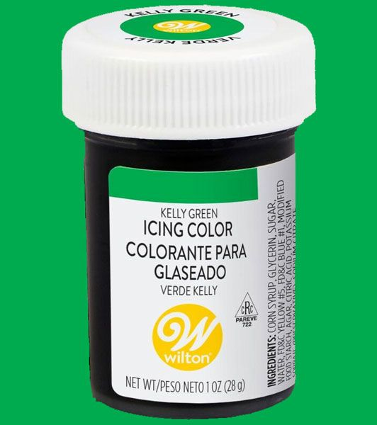 Kelly Green Wilton Icing Paste