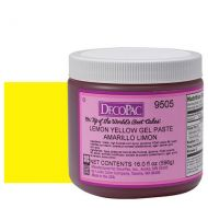 Lemon Yellow Premium Paste Colour
