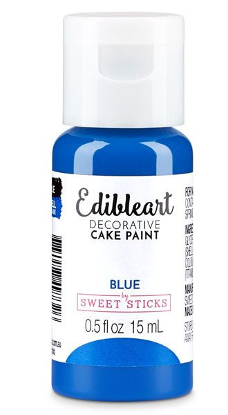 Blue Edible Art Paint