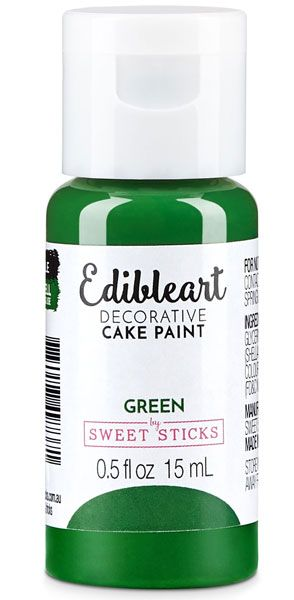 Green Edible Art Paint