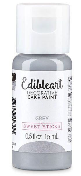 Grey Edible Art Paint