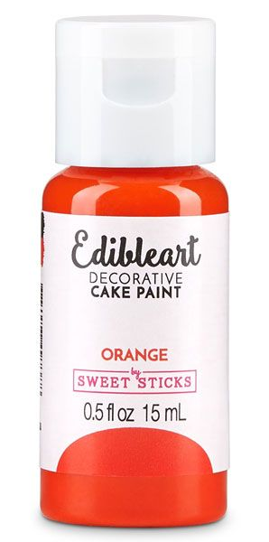 Orange Edible Art Paint