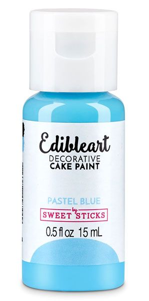 Pastel Blue Edible Art Paint