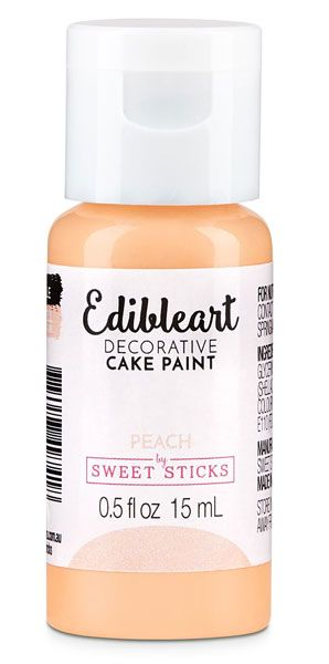 Peach Edible Art Paint