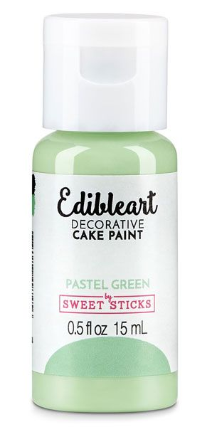 Pastel Green Edible Paint