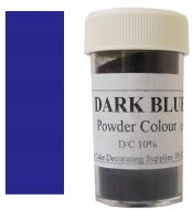 Dark Blue Powder Colour