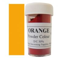 Orange Powder Colour
