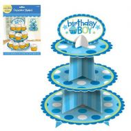 B'day Boy Cup Cake Stand