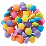Bright Confetti Sugar Shapes