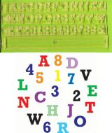Alphabet Cutter & Number Block Set
