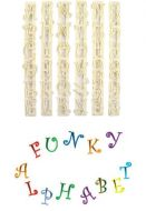Funky Alphabet Cutter & Number