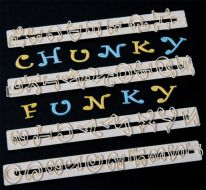 Chunky Funky Alphabet Cutter & Number