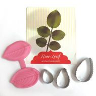 Rose Leaf Cutter Set