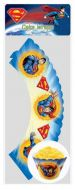 Superman Cup Cake Wrap