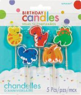 Dinosasur Bday Pick Candle