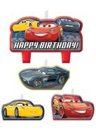 Disney Cars 3 B'day Candle Set