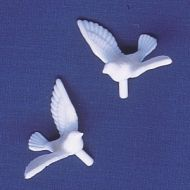Tiny Doves.    White