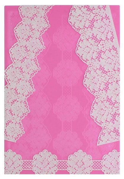 Damask 3D Silicone Lace Mat