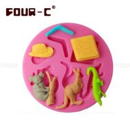 Australian Animal Silicone Mould