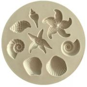 Shell & Starfish Silicone Mold