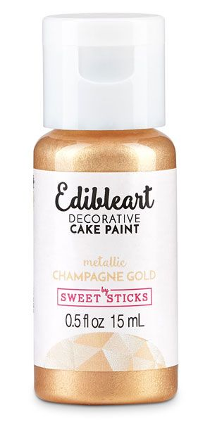 Champagne Gold Edible Art Metalic Paint