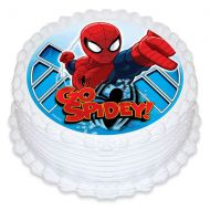 Spiderman Edible Image