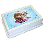 Frozen Disney A4 Edible image