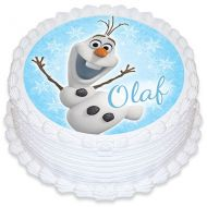 Olaf (Frozen) Round Edible Image