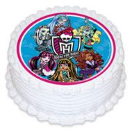 Monster High Edible Image