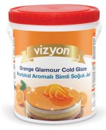 Orange Glamour Glaze 500g