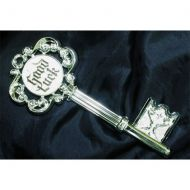 Silver Good Luck Key