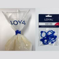 Piping Bag Easy Ties Pk10