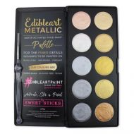Metallic 10 Palette Edible Art Paint
